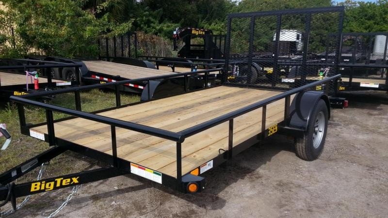 Big Tex Trailers 35ES-12 Utility Trailer  Lawncare