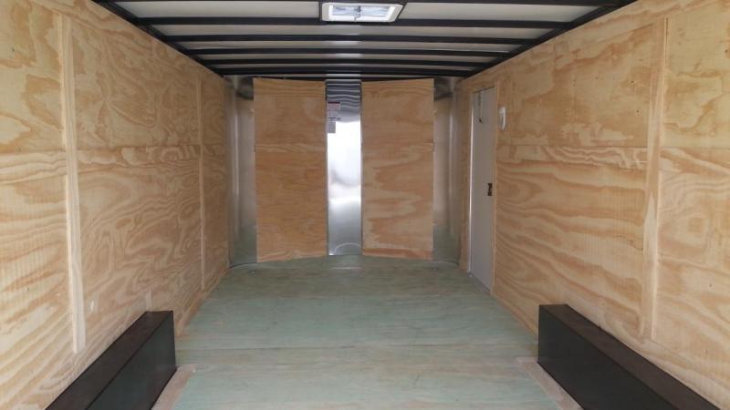 8.5x20x6'6 Black Arising Enclosed Trailer Cargo Car