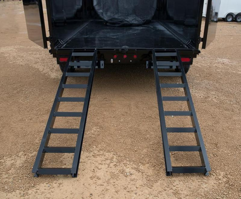 Big Tex 83 x 14 Dump Trailer with 4' Sides with Ramps