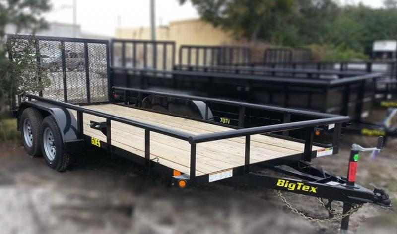 2020 Big Tex Trailers 60ES-12 Utility Trailer