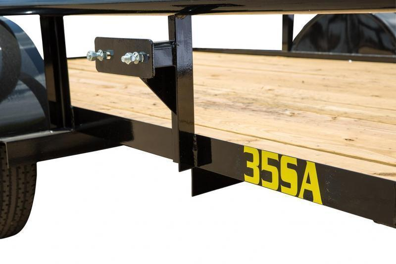 Big Tex 5' x 8' Utility Trailer with 2' Mesh Sides