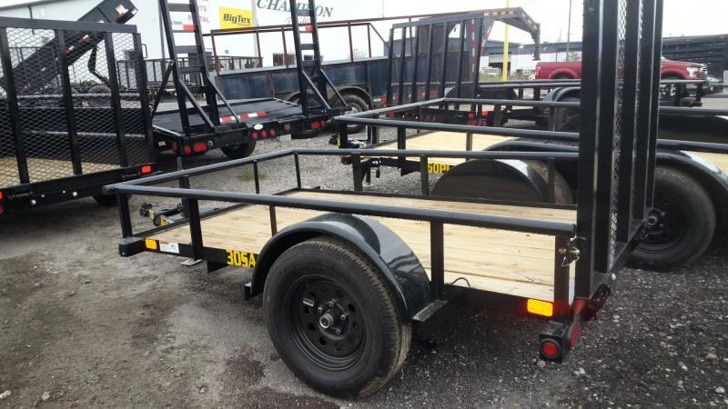 Big Tex Trailers 30SA-08 Utility Trailer  Lawncare