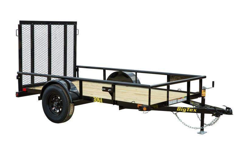 Big Tex Trailers 30SA-08 Utility Trailer  Lawncare
