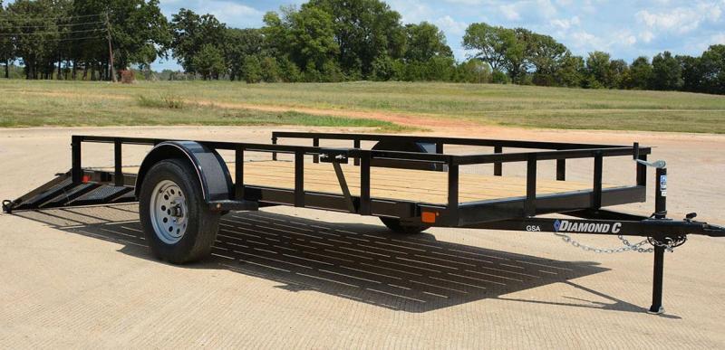 "2019 Diamond C Trailers GSA 135L10x60""Utility Trailer ATV"