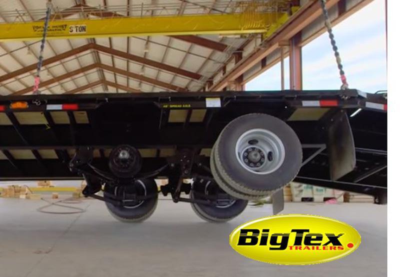 Big Tex 22GN 25'+5'MR Gooseneck Tandem Dual Equipment Hauler Trailer 25' Gooseneck Trailer