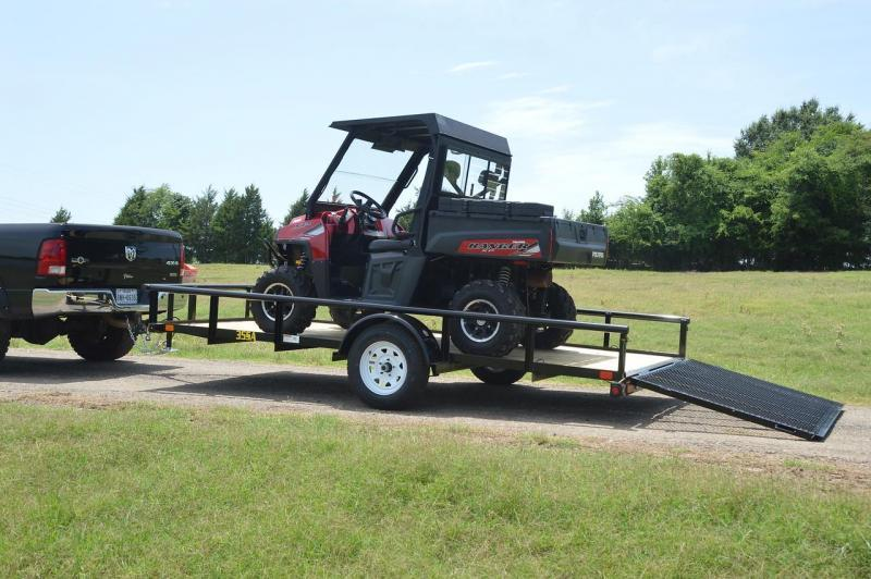 Big Tex 77x12 Utility Trailer ATV Motorcycle Landscape Hauling