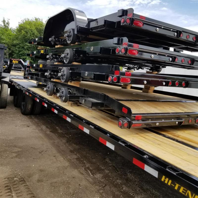 2020 Big Tex 22GN 35'+5' Gooseneck Tandem Dual Equipment Hauler Trailer 40' Gooseneck Trailer
