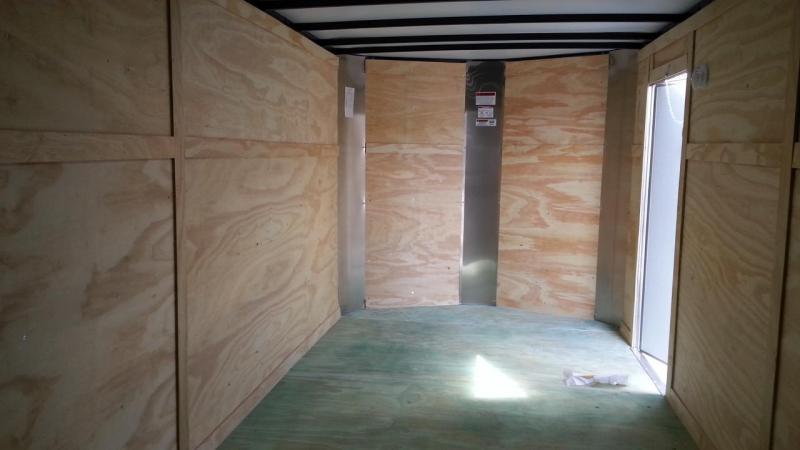 2020 Arising 7x16x6 Enclosed Cargo Trailer