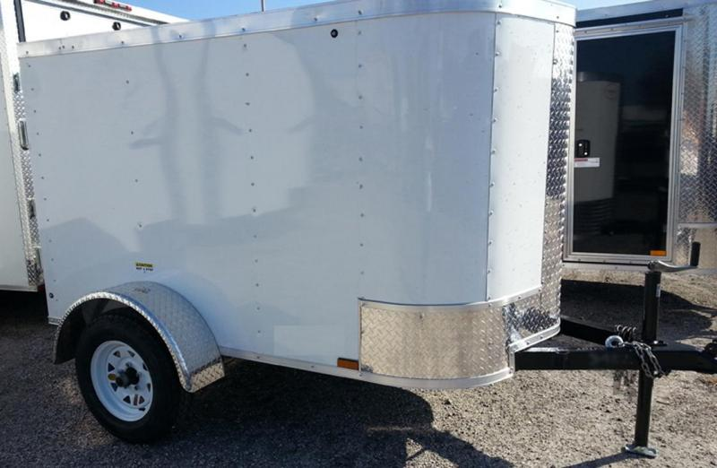 Arising 4x6 Enclosed Cargo Trailer Storage Luggage Travel
