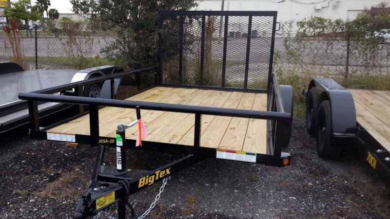 "Big Tex 77""x12 Utility Trailer ATV Motorcycle Landscape Hauling"