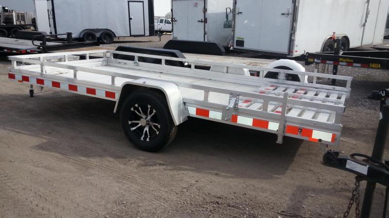 2020 Aluma 6'5 x 14 Utility Trailer