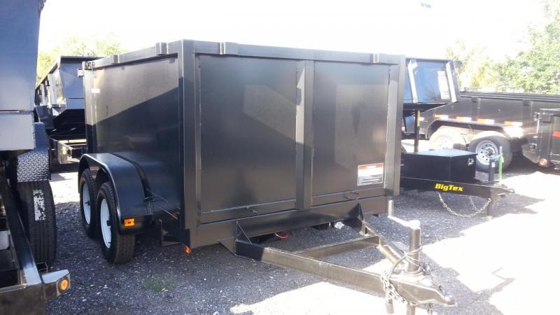 2020 Triple Crown Trailers 6x12 2-5.2k axle Dump Trailer