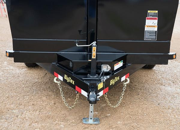 Big Tex Trailers 14LX-12 Dump Trailer Low Pro with Ramps
