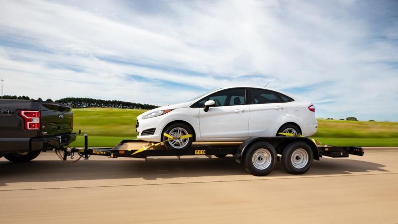 2020 Big Tex Trailers 60EC Car / Racing Trailer