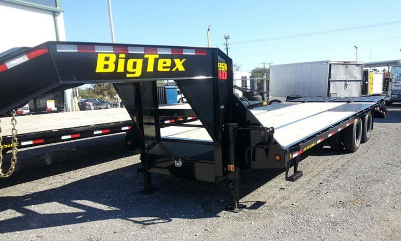 Big Tex 22GN- 20'+5' 25' Gooseneck Trailer Flatbed Trailer Equipment Trailer