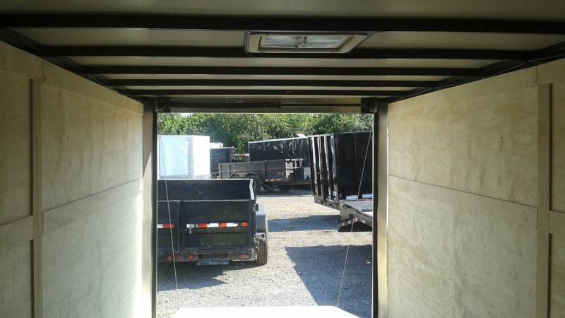 Arising 8.5x24x6'6 Enclosed Cargo Carhauler motorcycle