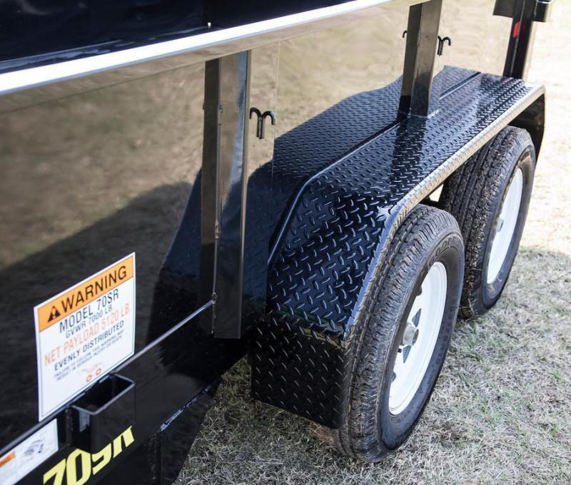 2020 70SR 10x5w  Tandem Axle Single Ram Dump Landscape Hauling