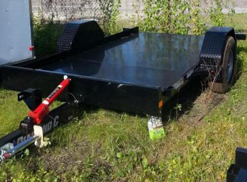 Diamond C Trailers DSA107--L 12X77 Hyd. Dampened Tilt Equipment Trailer