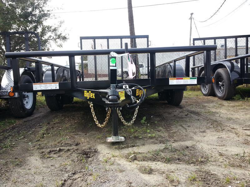 Big Tex 60 PI 77x16' Tandem Axle Utility Lawncare