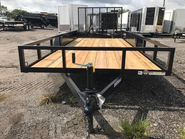 Triple Crown Trailers 6'4x16 Utility Trailer Landscape