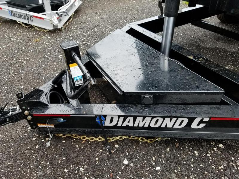 Diamond C LPT TELESCOPIC Low Profile Dump 4' sides