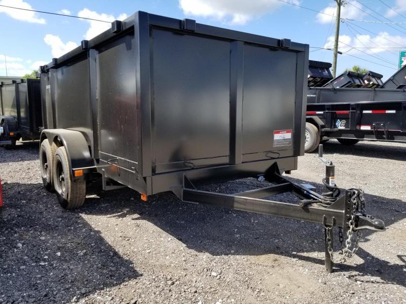 Triple Crown 6x12 5.2k Axles Low Rider Dump Trailer