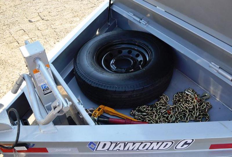 Diamond C Trailers HDT207-L 20X82 TILT Equipment Trailer