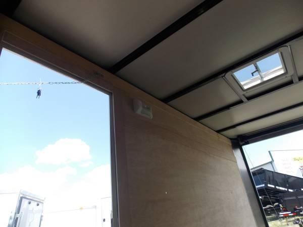 5x8 Arising Enclosed Trailer Storage
