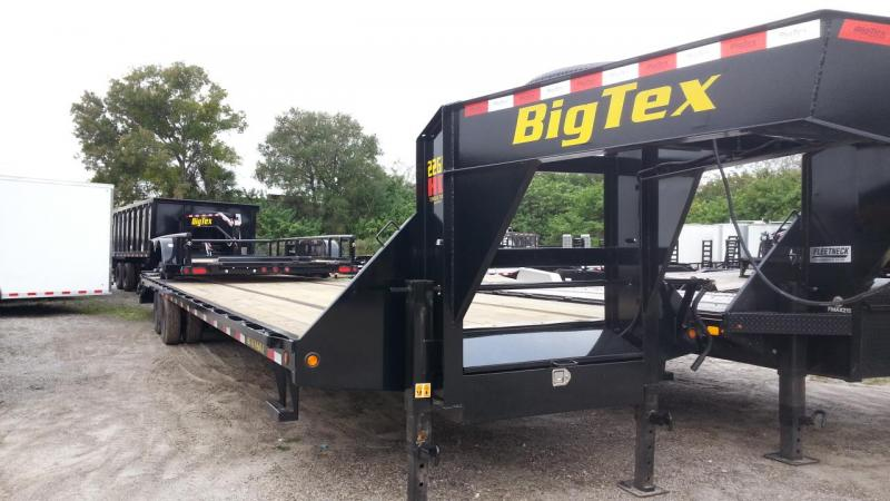 2020 Big Tex 22GN 35'+5' Gooseneck Tandem Dual Equipment Hauler Trailer 40' Gooseneck Trailer