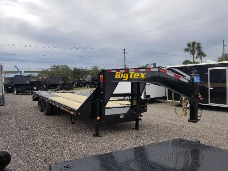 Big Tex Trailers 22GN-25+5 Mega Ramps Equipment Trailer Equipment Hauler Trailer 30' Gooseneck Trailer