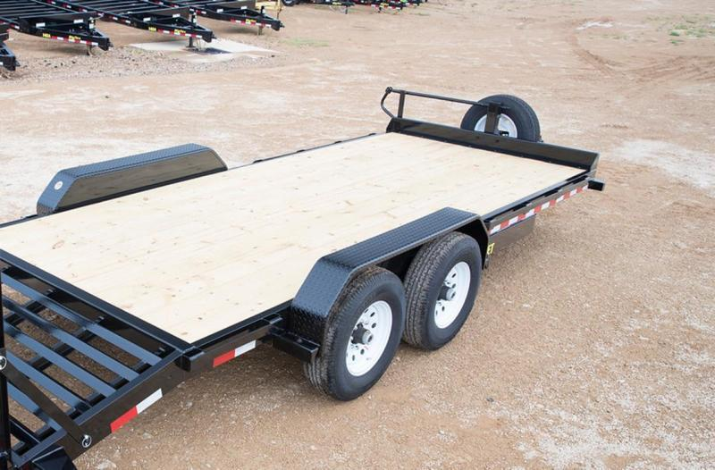 Big Tex 14ET -20Ft Heavy Duty tandem axle Equipment 7k Axles With Mega Ramps