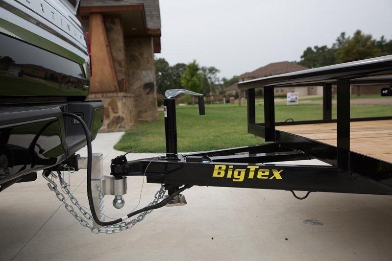 Big Tex Trailers 60ES-14' Utility Trailer landscape