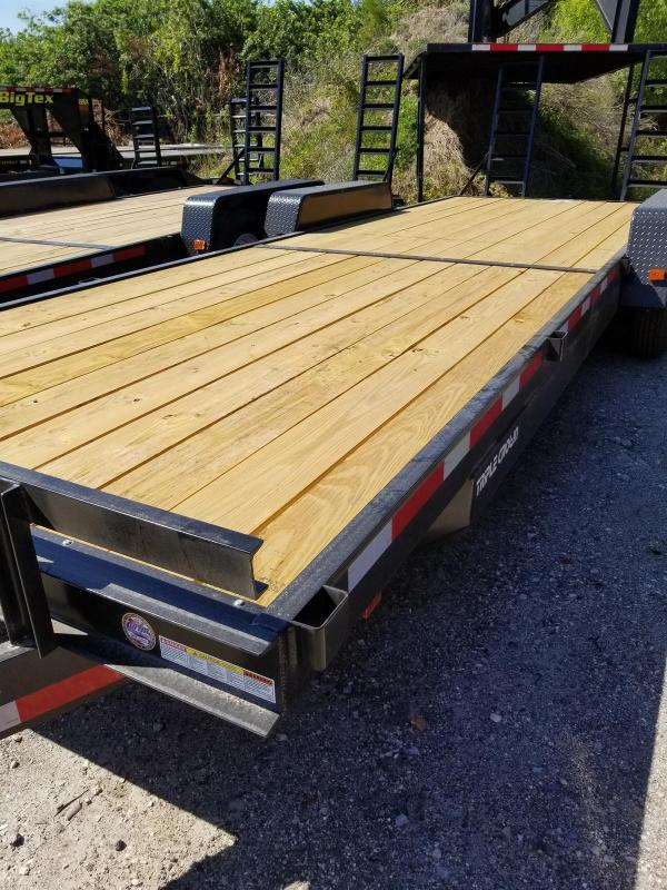 Triple Crown Trailers 7 x 24 14k Equipment Trailer