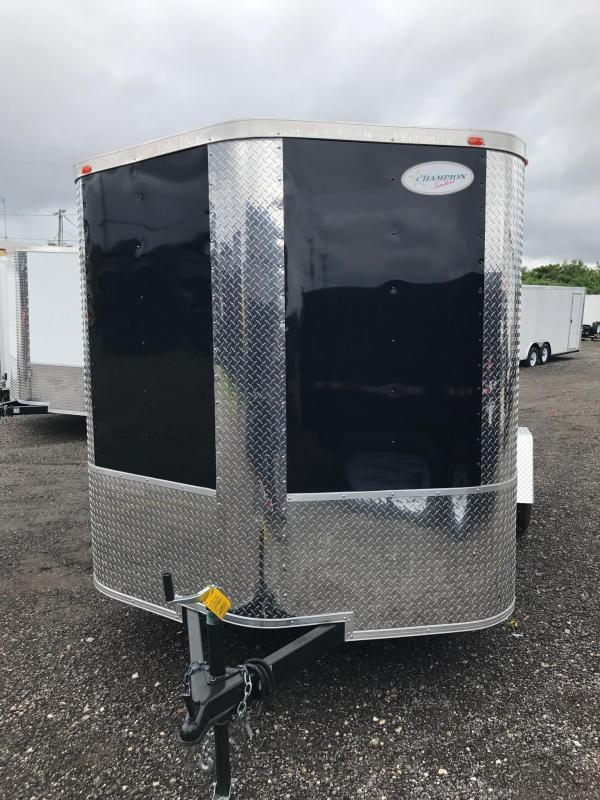 6X12 SA Arising Enclosed Trailer Motor Cycle