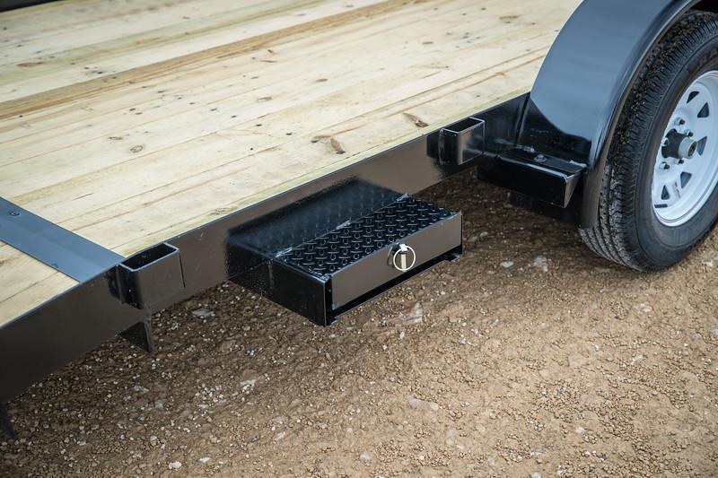 70CH 20' Big Tex Car Hauler Equipment Trailer Race Car Trailer Rear Dovetail with Slide in Ramps