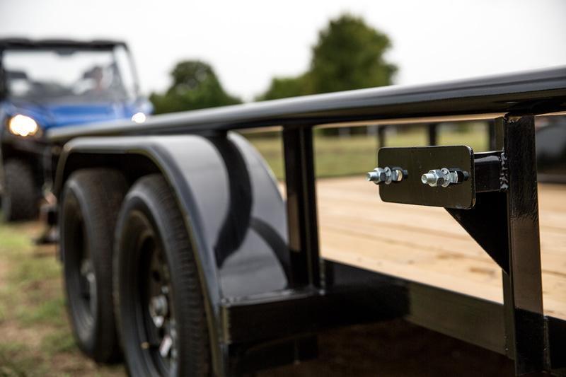 "Big Tex 77""x16' Utility Trailer Open Utility Lawncare Trailer Landscape Hauling"
