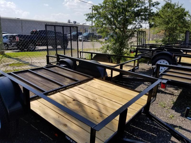 Triple Crown Trailers 5x8 Utility Trailer 4'ramp Landscape Hauling