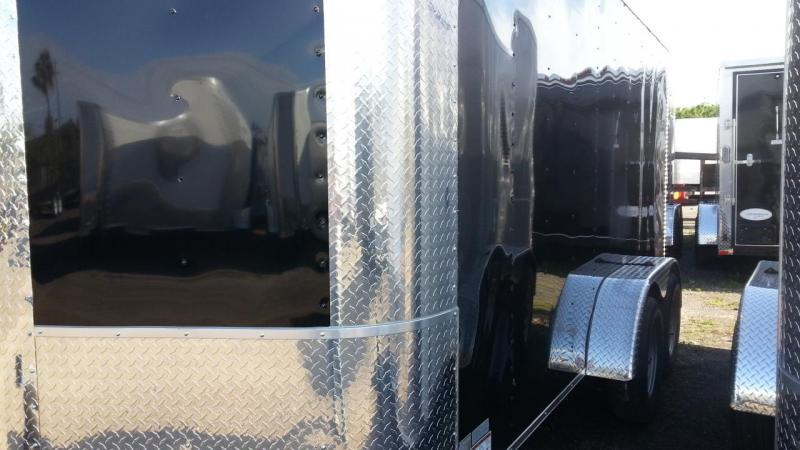 7 x 16 x 6'6 Ram Coupler Arising Industries Enclosed Motorcycle Storage