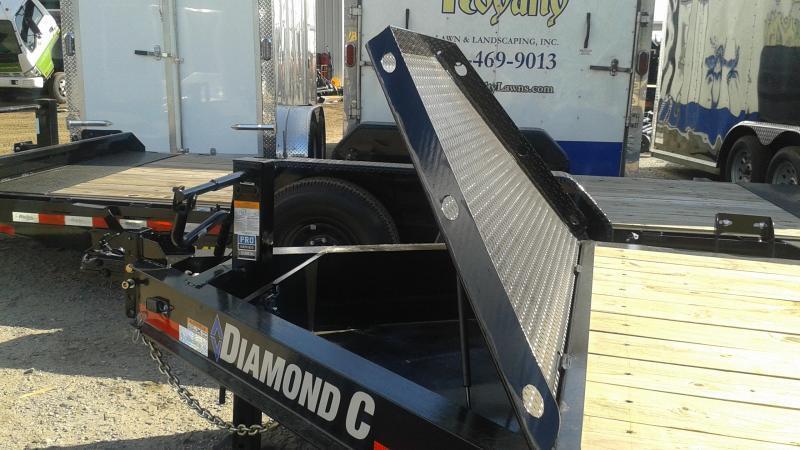 "Diamond C Trailers LPX207 20'x82""  Equipment Trailer"
