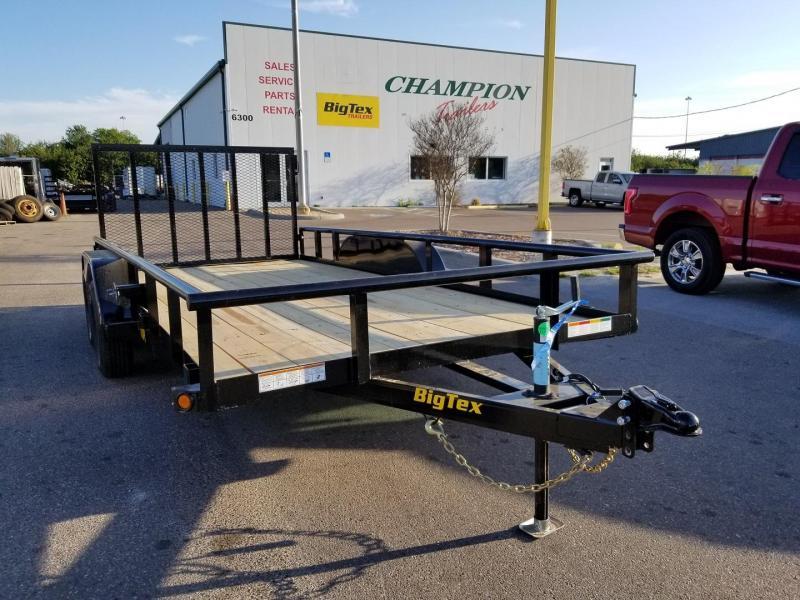 Big Tex 70PI-14' Trailers Utility Pipe Top Landscape