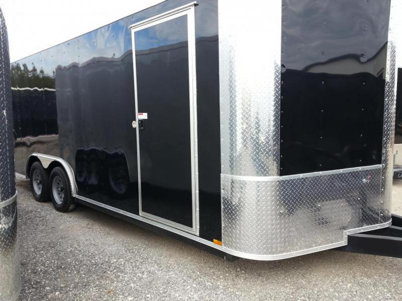 8.5x20x6'6 Arising Enclosed Trailer Crago Carhuler