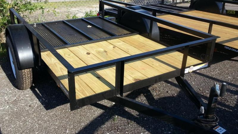 Triple Crown Trailers 5x10 Utility Trailer  Lawncare