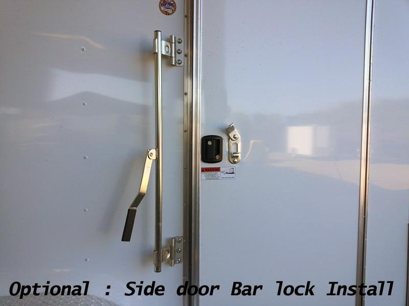 5x8 Arising Enclosed Trailer Storage