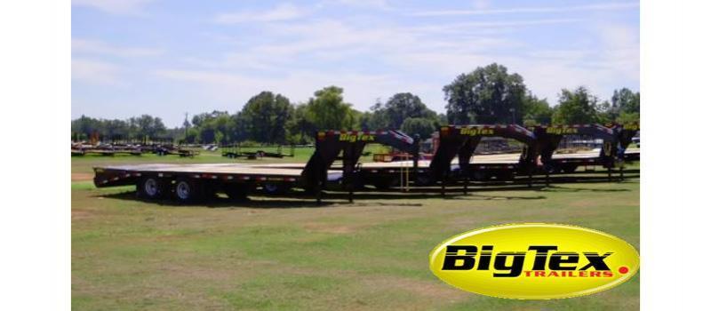 Big Tex 22GN- 20'+5' 25' Gooseneck Trailer Flatbed Trailer Equipment Trailer