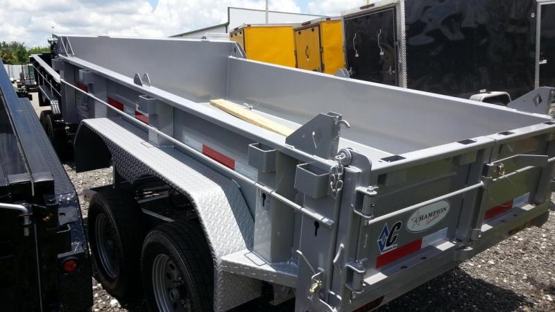 Diamond C Trailers EDG 235L 60X10 Dump Dump Trailer