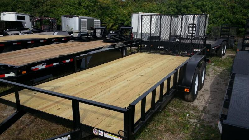 2020 Triple Crown Trailers 7x16 ATV Utility Trailer