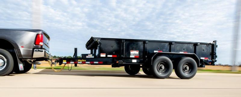 2020 Big Tex Trailers 14LP-14 Low Profile Dump Trailer with ramps