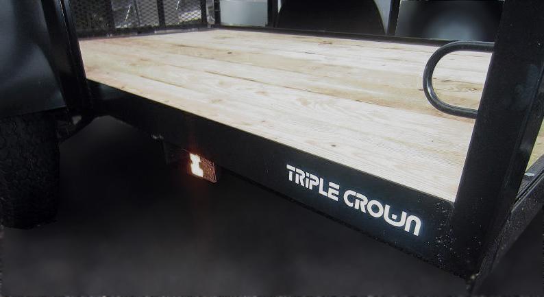 Triple Crown Trailers 5x10 Utility Trailer