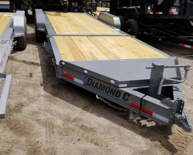 2020 Diamond C Trailers HDT HDT207-L24X82 Low Profile Hydraulic Tilt Equipment Trailer
