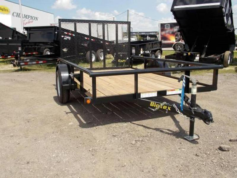 Big Tex 5 x 10 Utility Trailer w/ 4' Ramp Gate